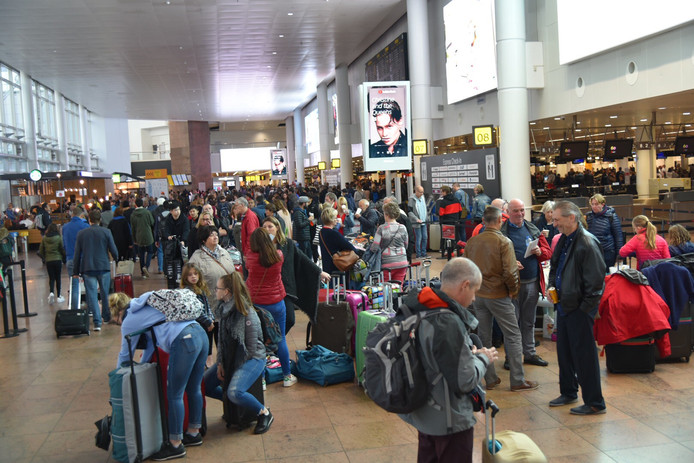Chaos op vliegveld Zaventem