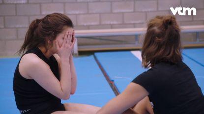 De voorbereidingen worden Margaux en Olga even te veel in 'Beat VTM'