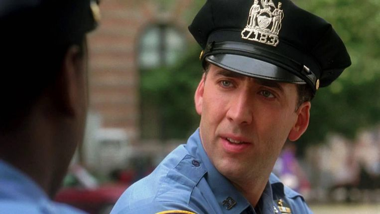 Nicolas Cage in It Could Happen to You (1994). Beeld YouTube