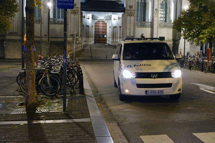 Illustratie politie Leuven