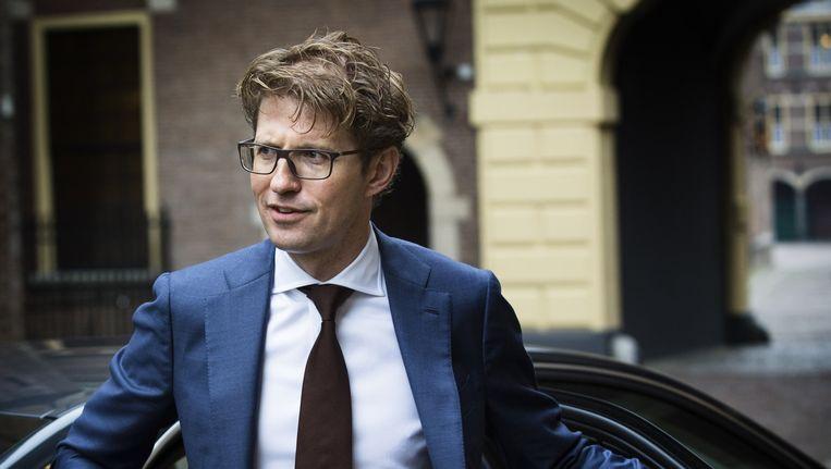 Staatssecretaris Sander Dekker van OC&W. Beeld anp