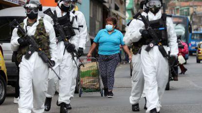 3,5 miljoen Colombianen opnieuw in strikte lockdown