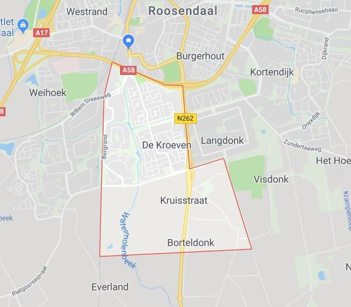 De wijk Kroeven.