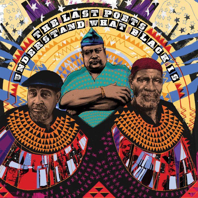 Albumhoes 'Understand What Black Is' van The Last Poets. Beeld