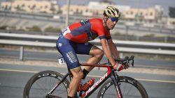 Vincenzo Nibali verschijnt aan de start van de Ronde van Vlaanderen