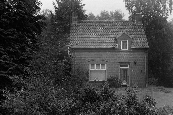 Het huis in Langenboom in 1990