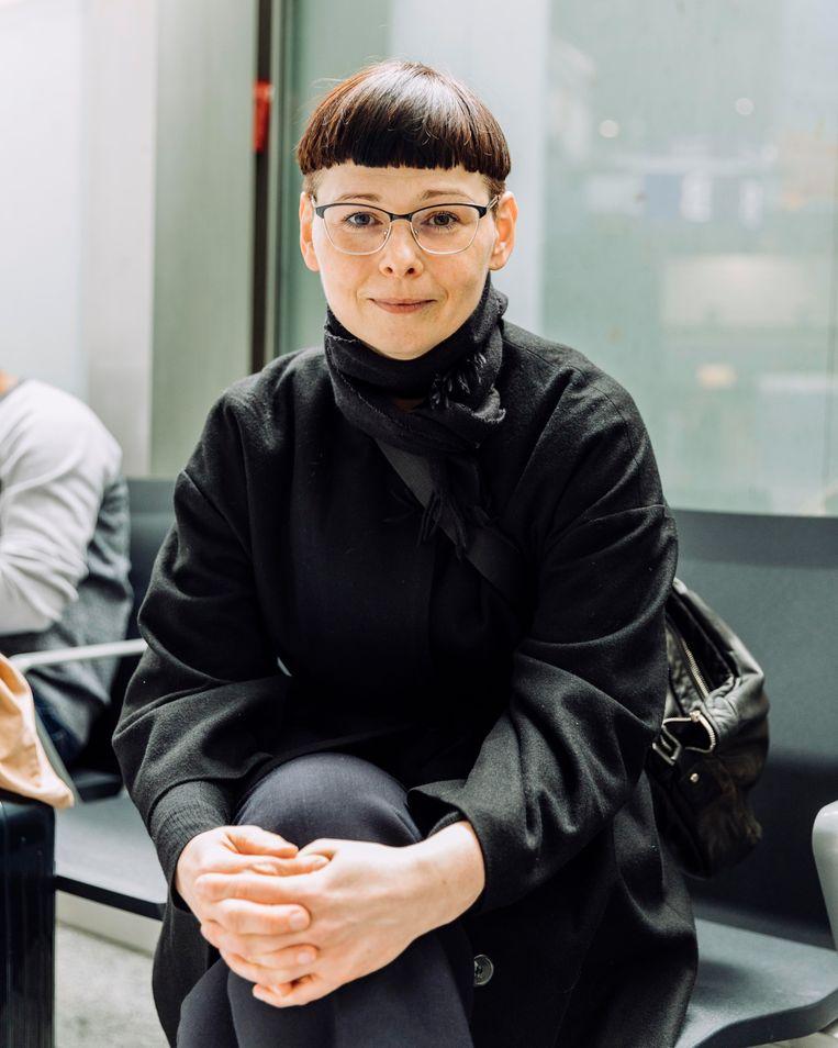 Melanie Bröder. Beeld Rebecca Fertinel