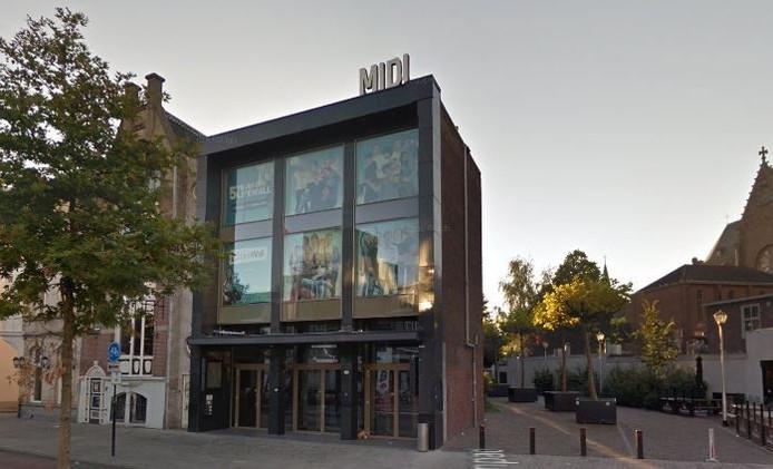 Het Midi Theater in Tilburg.