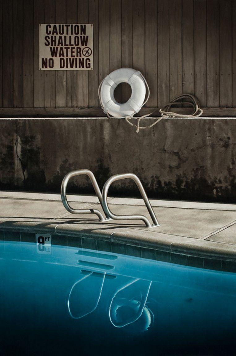 'No Diving'