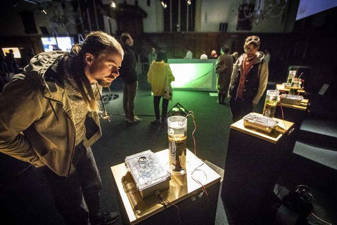 Gogbot. Technologie festival, onder andere op de Oude Markt en bij Atak / Metropool.