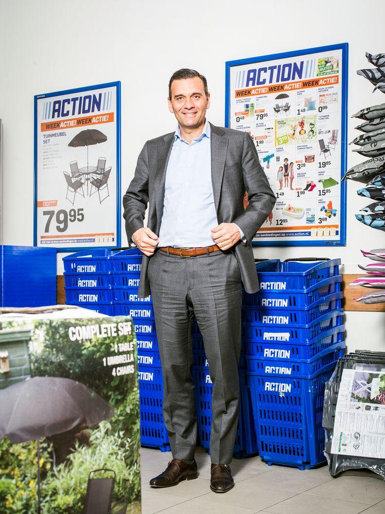 Sander van der Laan, CEO Winkelketen Action Beeld Jiri Buller