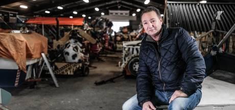 Ongebruikte carnavalswagens kwijnen weg in vochtige loods in Westervoort: 'Troosteloos'