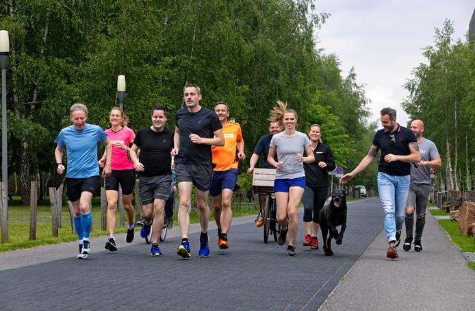 Het Eindhovense team Nextview Trailblazers.