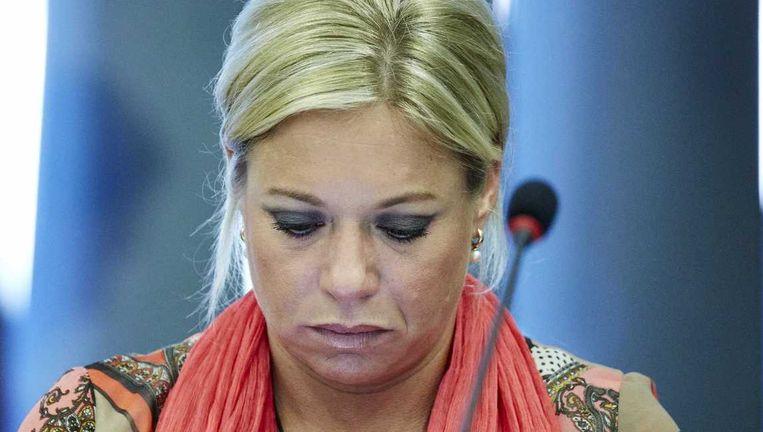 Minister Jeanine Hennis-Plasschaert van Defensie doet momenteel onderzoek naar de blootstelling bij vijf NAVO-werkplaatsen. Beeld anp