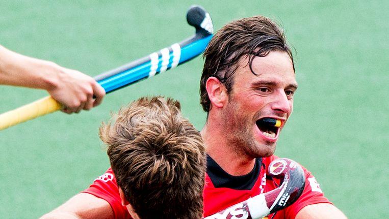 Sébastien Dockier scoorde het enige doelpunt van de wedstrijd.
