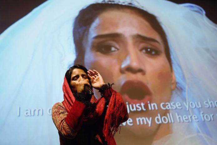 Sonita Alizadeh vecht tegen gedwongen huwelijken bij jonge vrouwen.