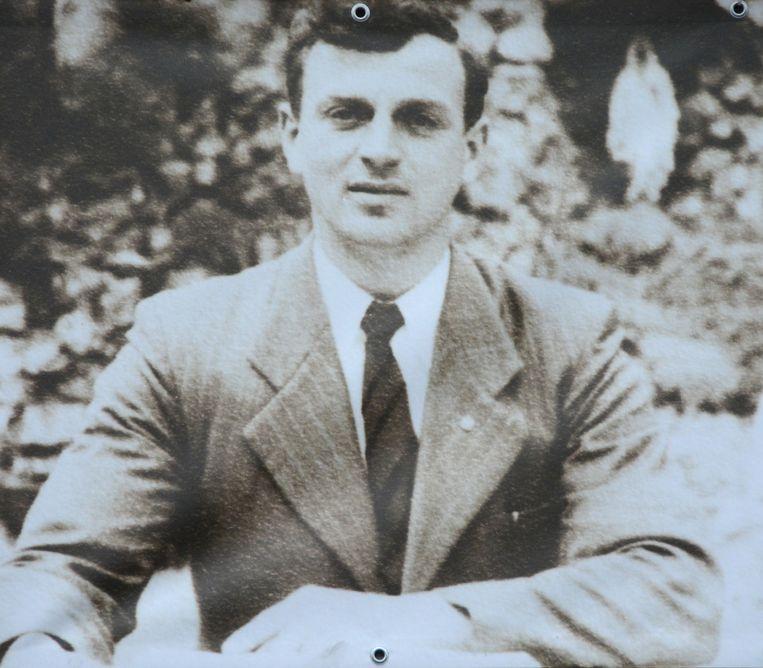 Een foto van Meester Merckx in zijn jonge jaren.