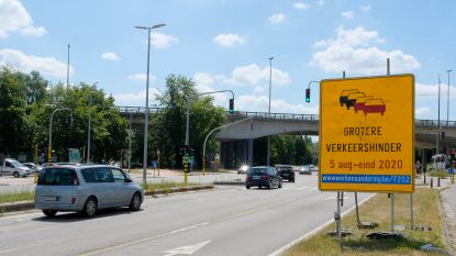 Opnieuw 15 maanden verkeershinder in Woluwedal: tweede fase heraanleg kruispunten van start