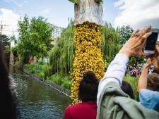 VIDEO. Duck Race lost 10.000 badeendjes in de Leie voor goede doel
