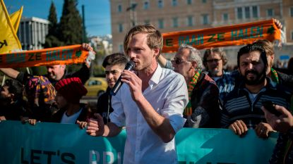 Nederlandse actiegroep 'We Gaan Ze Halen' keert zonder vluchtelingen terug uit Griekenland