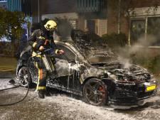 Auto uitgebrand in Boskoop