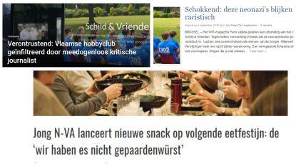 Satirische websites smullen van Schild & Vrienden