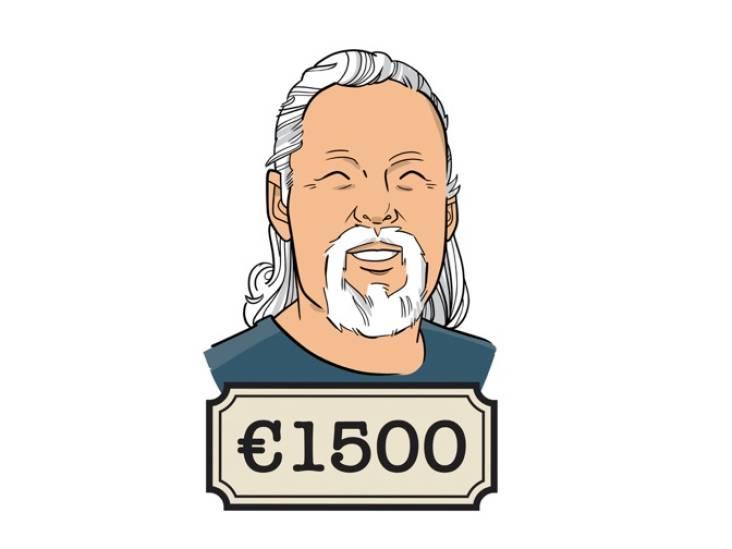 Louis (60): 'Ooit verdiende ik 5000 gulden per maand, nu krijg ik het minimumloon'