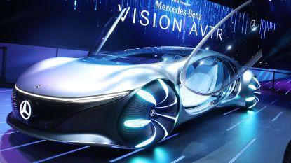 Mercedes onthult futuristische auto zonder stuur