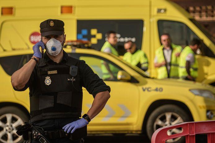 Archiefbeeld Spaanse politie.