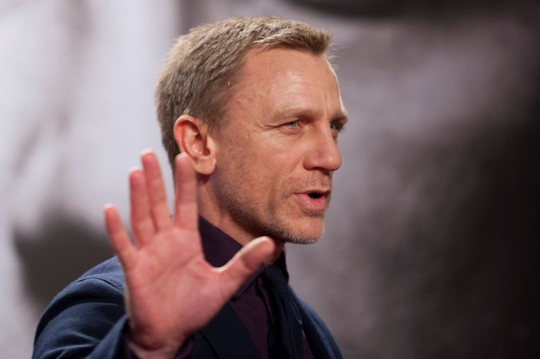 Daniel Craig Beeld AFP