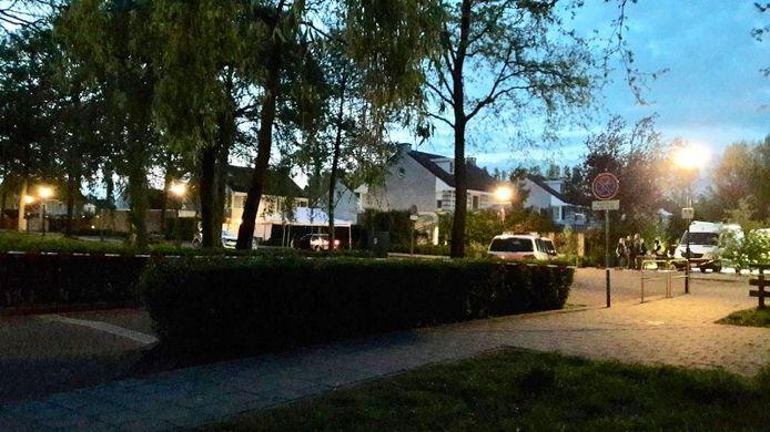 De plaats in Schijndel, waar Daan Hoefs uit Erp werd doodgeschoten.