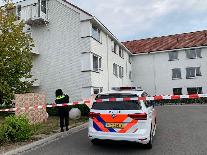 De man werd nabij het Rosmalense Fletcher Hotel gevonden.