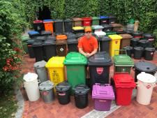 Oproep van afvalbakverzamelaar Alexander blijkt succesvol: binnen een week vindt hij container
