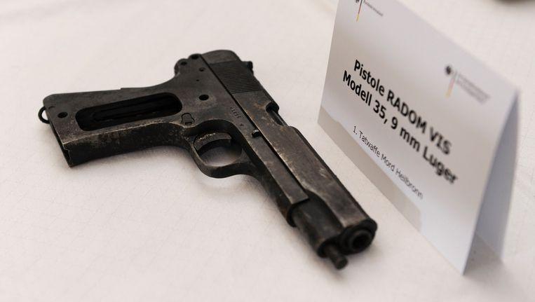 Wapen gebruikt door de NSU. Beeld AFP
