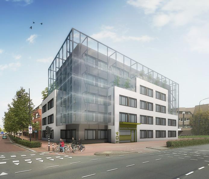 Een impressie van de nieuwe 'short stay-appartementen' aan de Kasteel-Traverse