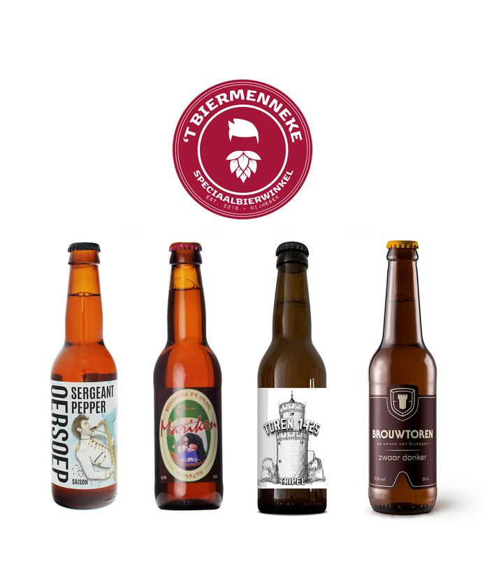 Nijmeegse geschenken: bierpakket.