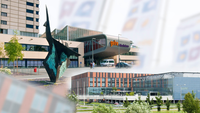 De Gelre Ziekenhuizen in Apeldoorn en Zutphen.