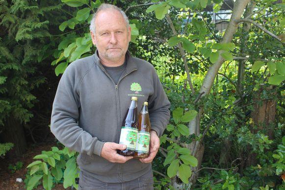 Eigenaar Jan Gelders maakt van zijn unieke appelrassen ook fruitsappen