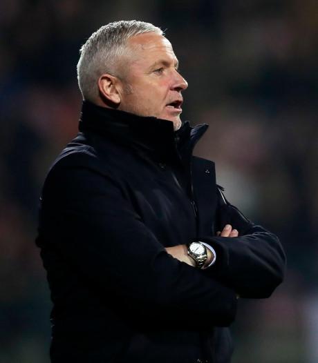 Jack de Gier nieuwe trainer van Go Ahead Eagles