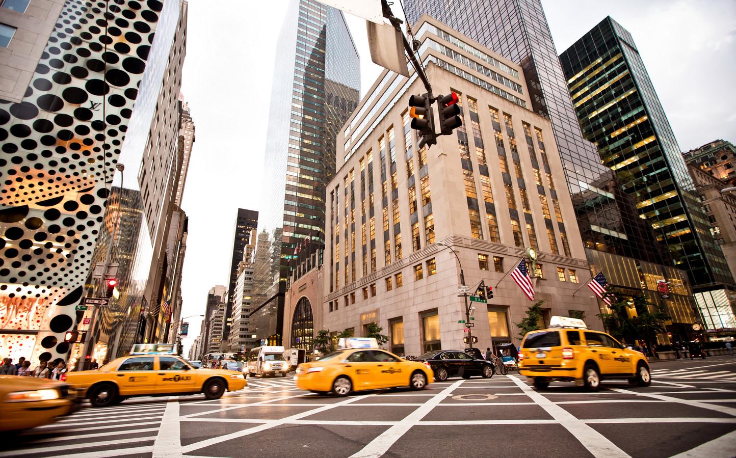 New York, 5th Avenue.