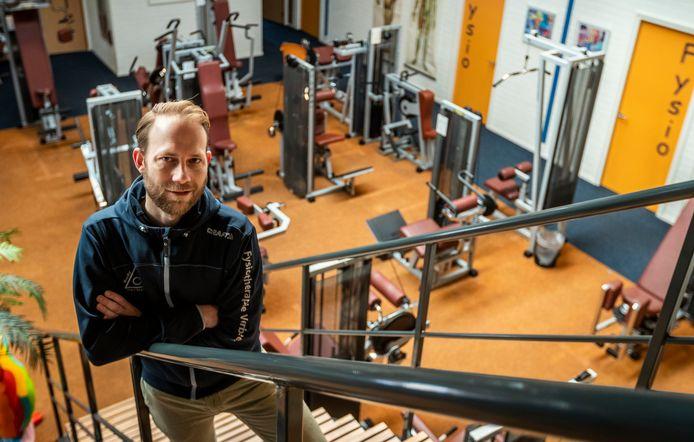 René Linssen, fysiotherapeut van Body-Care Verbeek in Son en Breugel.