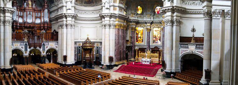Het interieur van de Domkerk. Beeld Robert MacGregor - Wikimedia