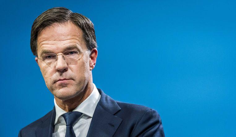 Premier Mark Rutte probeerde een deel van de Nederlandse zorgen weg te nemen. ANP LEX VAN LIESHOUT Beeld ANP