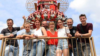 IN BEELD: acteurs van 'Familie' en 'De Buurtpolitie' leven zich uit op Sinksenfoor