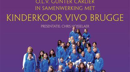 Concertband en Kinderkoor Vivo Brugge samen op de planken