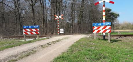 Onbewaakte spoorwegovergang bij Aalten afgesloten