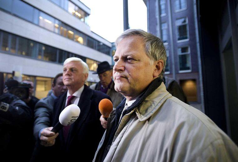 Voormalig VVD-gedeputeerde Ton Hooijmaijers. Beeld anp