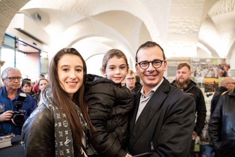 De zevenjarige Nette Beke schakelde haar papa in om haar naar Sint-Truiden te brengen