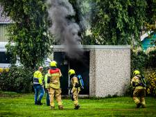 Brand in transformatorhuisje zorgt voor overlast in Strijensas