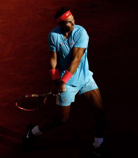 Nog eentje en dan heeft Nadal het record van Federer te pakken